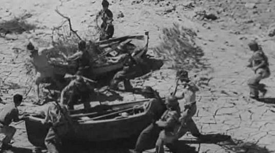 Inundaciones en la batalla del Ebro