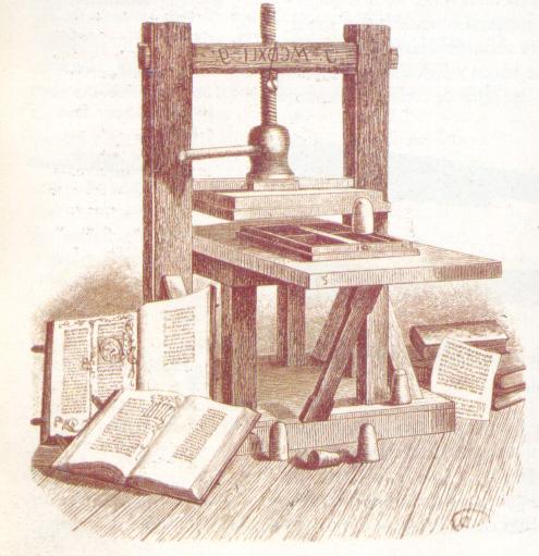 invencion imprenta