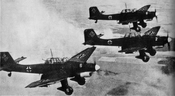 Stuka en la invasión de Polonia