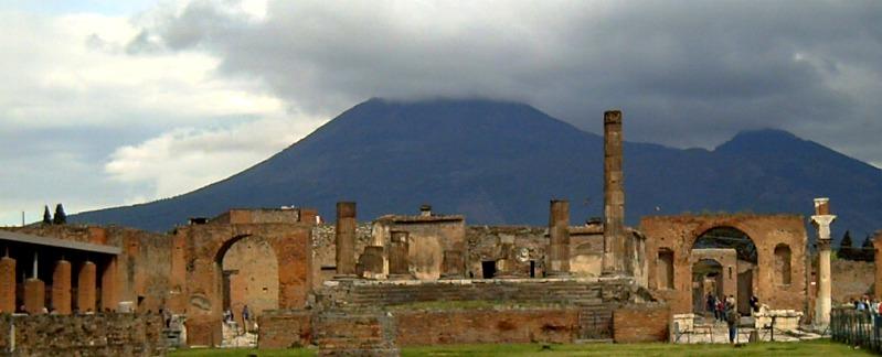 Pompeya, catastrofe bajo El Vesubio