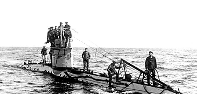 Submarino Primera Guerra Mundial