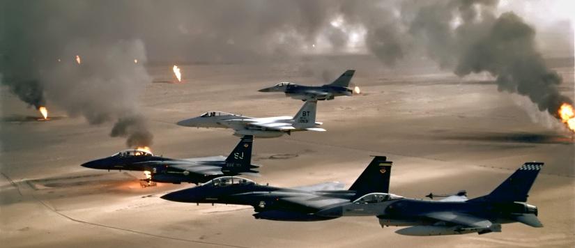 Aviones guerra del golfo