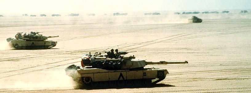 Tanque Abrams Guerra Golfo