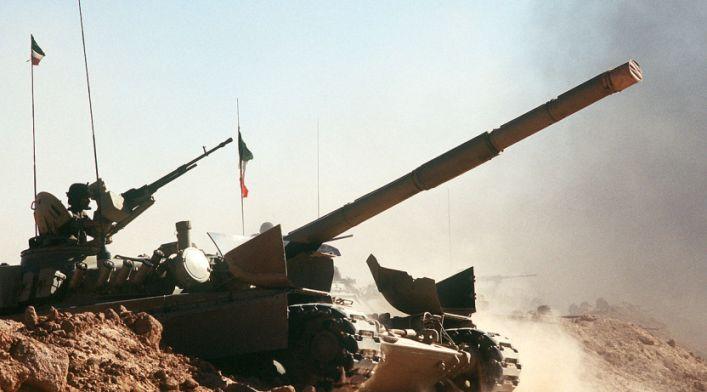 Tanque guerra golfo